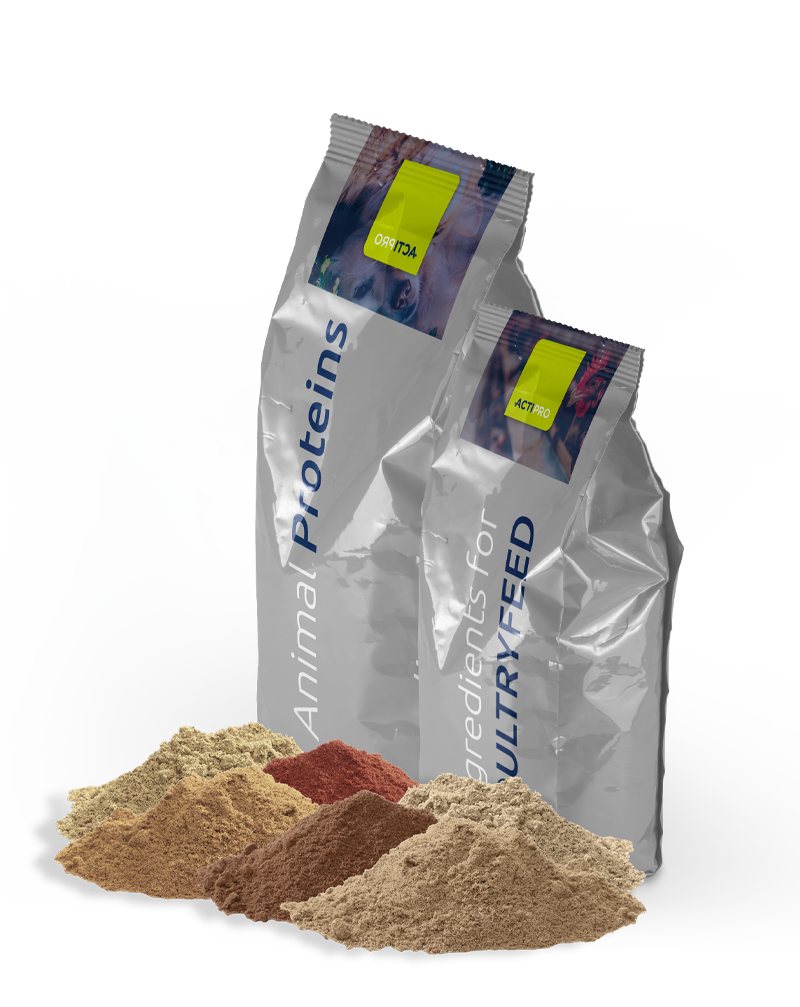 Bag Actipro animal proteins and ingredients for poultry feed