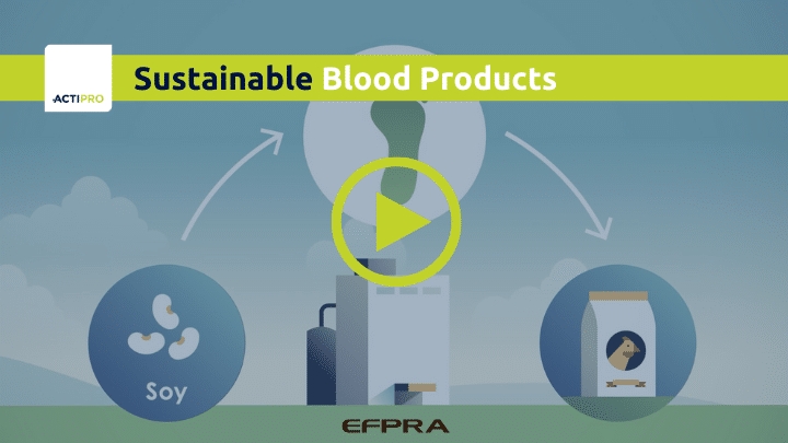 Sustainable blood products